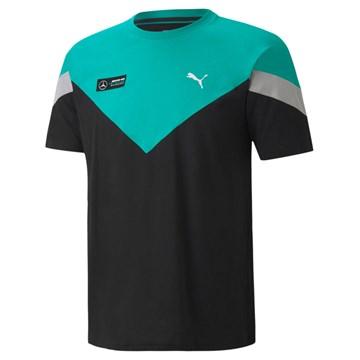 Camiseta Puma Mercedes AMG Petronas Motorsport Masculina - Preto e Verde