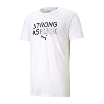 Camiseta Puma Performance Graphic Masculina - Branco