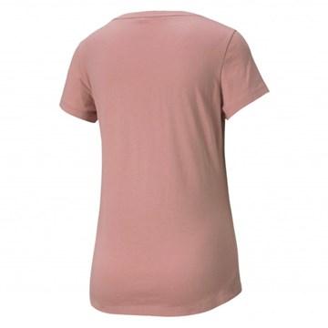Camiseta Puma Rebel Graphic Tee Feminina - Rosa