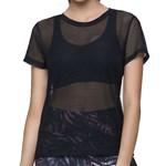 Camiseta Selene Fitness Feminina - Preto