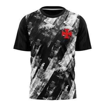 Camiseta Vasco Braziline Fold Infantil - Preto e Branco