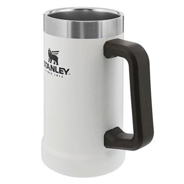Caneca Térmica de Cerveja Stanley Beer Stein 710ml - Branco