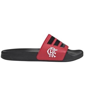 Chinelo Adidas Flamengo Adilette Shower - Preto e Vermelho