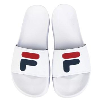 Chinelo Fila F-Slider 2.0 Feminino - Branco