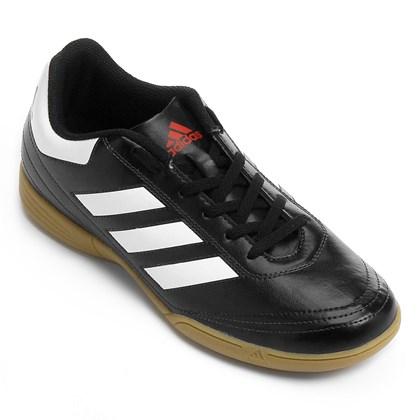 0e0432477c Chuteira Adidas Futsal Goletto 6 Infantil - Preto e Branco - Esporte ...