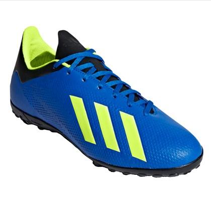 979edfdf8 Chuteira Adidas Society X Tango 18.4 Infantil - Azul e Preto ...