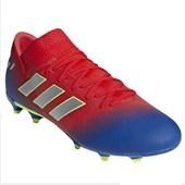 6d333fa6a9 Chuteira Campo Adidas Nemeziz Messi 17.3 Masculina - Azul e Verde ...