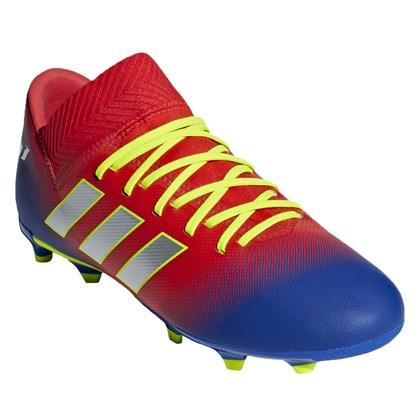 46d68f4c6c615 Chuteira Campo Infantil Adidas Nemeziz Messi 18.3 FG - EsporteLegal