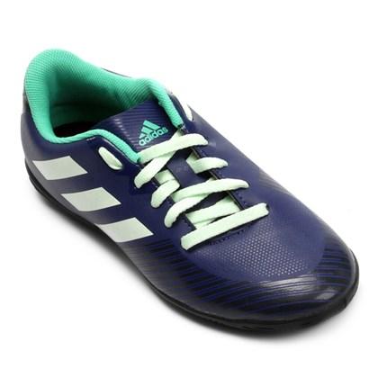 a1764fd928 Chuteira Futsal Adidas Artilheira 18 Infantil - Marinho - Esporte Legal