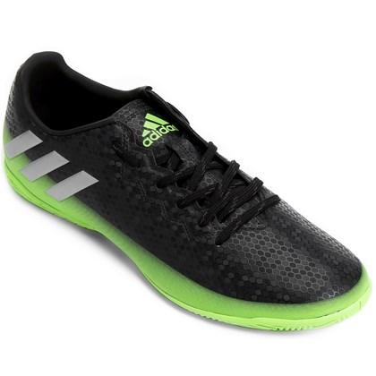 97c74977b60 Chuteira Futsal Adidas Messi 16.4 - AQ3528 - EsporteLegal