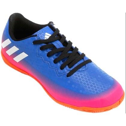 9a44b4bb717ac Chuteira Futsal Adidas Messi Junior BB5657