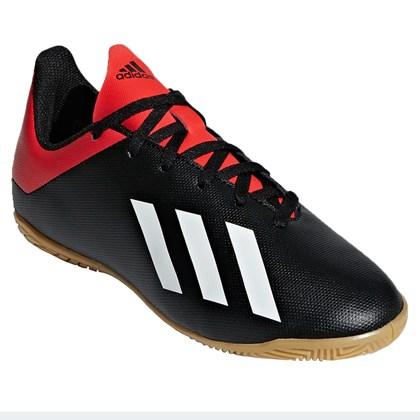 df6c4f6c42 Chuteira Futsal Adidas X 18.4 Infantil - EsporteLegal