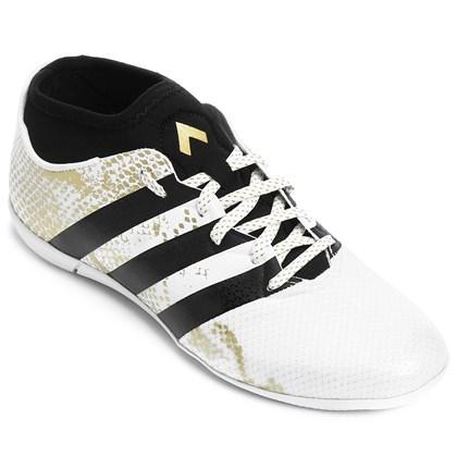 c8f5adeee8 Chuteira Futsal Infantil Adidas Ace 16 3 Primemesh