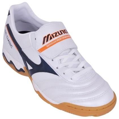 9b1f43f5a Chuteira Futsal Mizuno Morelia Classic Couro 4125264 - EsporteLegal
