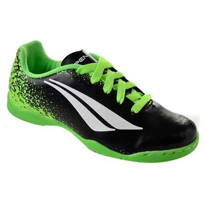 2b3ad273ad36d Chuteira Futsal Penalty Socc Victoria VII Infantil - Preto e Lima ...