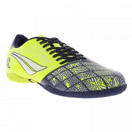 489a359f5407a Chuteira Futsal Penalty Victoria Dragon VII Infantil - Amarelo e ...
