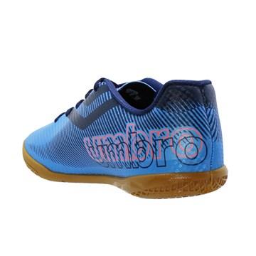 Chuteira Futsal Umbro Carbon II Júnior - Azul
