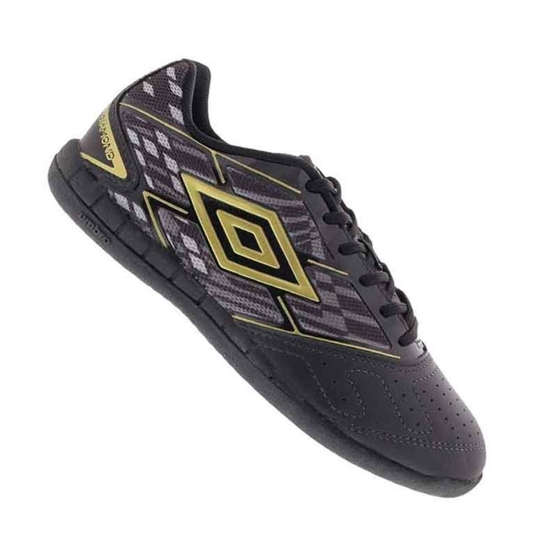 Chuteira Futsal Umbro Profissional Diamond Couro OF72046