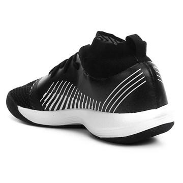Chuteira Futsal Umbro Soul Knit Trainer - Preto e Branco