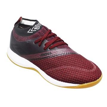 Chuteira Futsal Umbro Soul Knit Trainer - Vinho