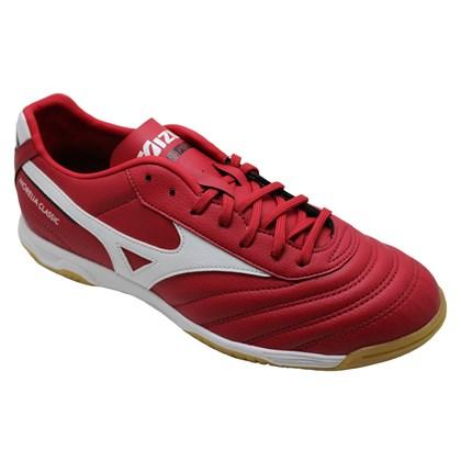 d96e5494a2 Chuteira Mizuno Futsal Morelia Classic Masculina - EsporteLegal