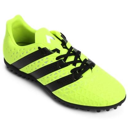 93a6c718c Chuteira Society Adidas Ace 16.3 Masculina - Lima e Preto - Esporte ...