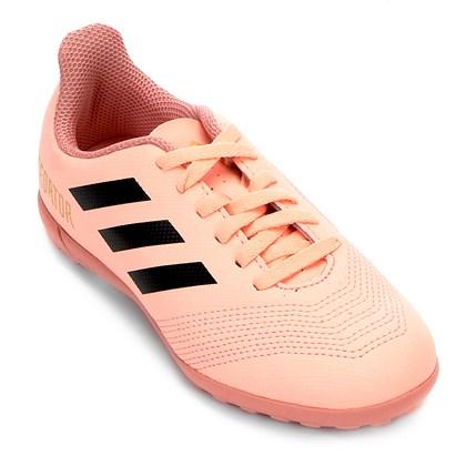 6a917a2b4b Chuteira Society Adidas Predator 18 4 Infantil - EsporteLegal