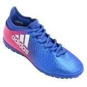Chuteira Society Adidas X 16 3 BB5665 Com Botinha