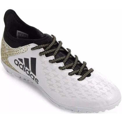 Chuteira Society Adidas X 16.3 TF AQ4352 - EsporteLegal 8569860664f33