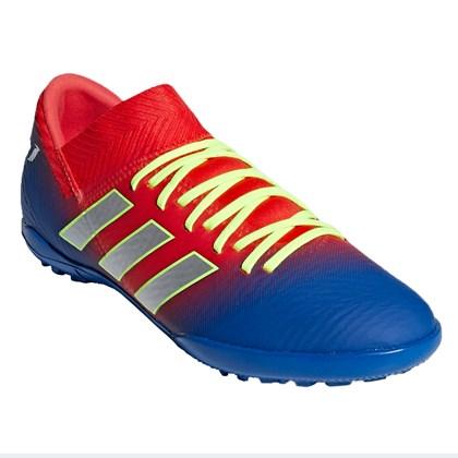 3ea882673 Chuteira Society Infantil Adidas Nemeziz Messi 18 3 TF - EsporteLegal