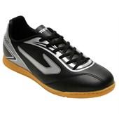d323aebe38f4c Chuteira Futsal Topper Strike Masculina - Branco e Azul - Esporte Legal