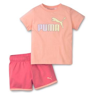 Conjunto Puma Minicats Bebê Infantil - Rosa