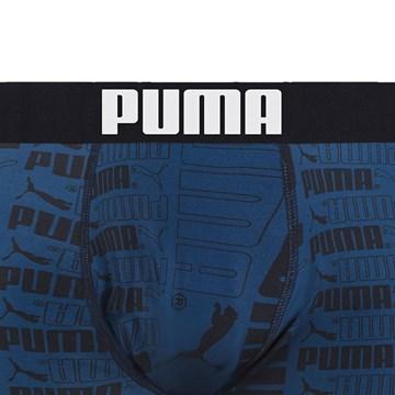 Cueca Boxer Puma Microfibra Masculina
