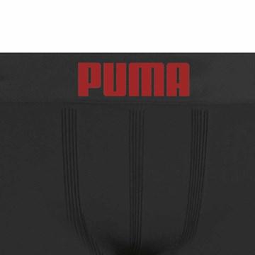 Cueca Boxer Puma Sem Costura Infantil - Preto