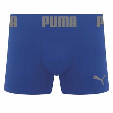 Cueca Boxer Puma Sem Costura Masculina - Azul Royal