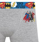 Cueca Boxer Selene Liga da Justiça Infantil
