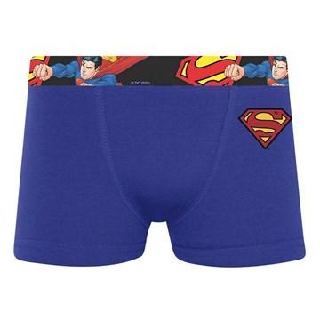 Cueca Boxer Selene Superman Infantil