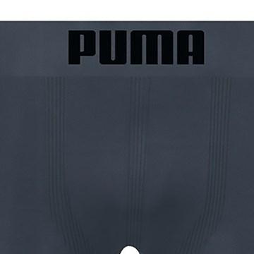 Cueca Long Boxer Puma Sem Costura Masculina - Chumbo