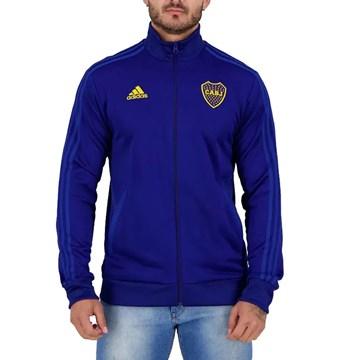 Jaqueta Adidas Boca Juniors 3 Stripes Masculina - Marinho
