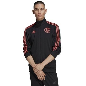 Jaqueta Adidas Flamengo Casual Masculina - Preto