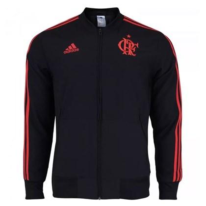 Jaqueta Adidas Viagem Flamengo Masculina - Preto e Vermelho ... ad19cc794475e