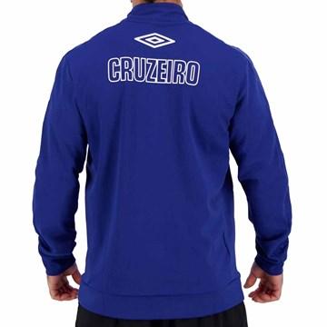 Jaqueta Umbro Cruzeiro Hino 2019 Masculina - Azul