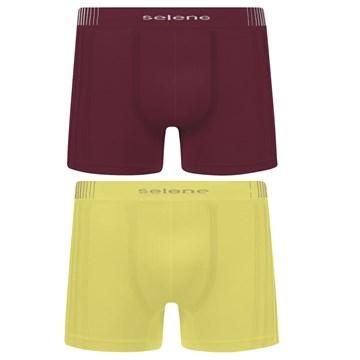 Kit 10 Cuecas Boxer Selene Sem Costura Masculino