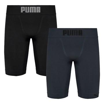 Kit 2 Bermudas Térmicas Puma Long Boxer Masculino