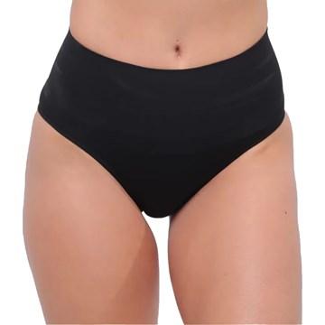 Kit 2 Calcinhas Redutora Selene Sem Costura Feminino - Preto e Nude