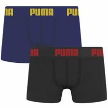 Kit 2 Cuecas Boxer Puma Sem Costura Infantil