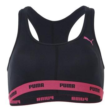 Kit 2 Tops Puma Nadador Com Bojo Feminino - Preto