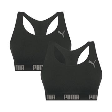 Kit 2 Tops Puma Nadador Sem Costura Feminino