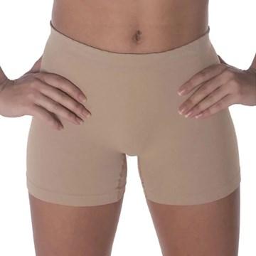 Kit 3 Calcinhas Boxer Selene Sem Costura Infantil - Nude