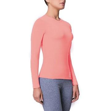 Kit 3 Camisas Selene Proteção UV Feminina - Preto/Pink/Salmão